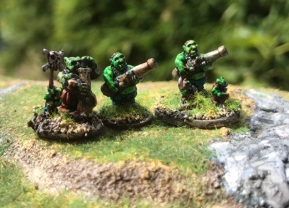 Green Giant Artillery
